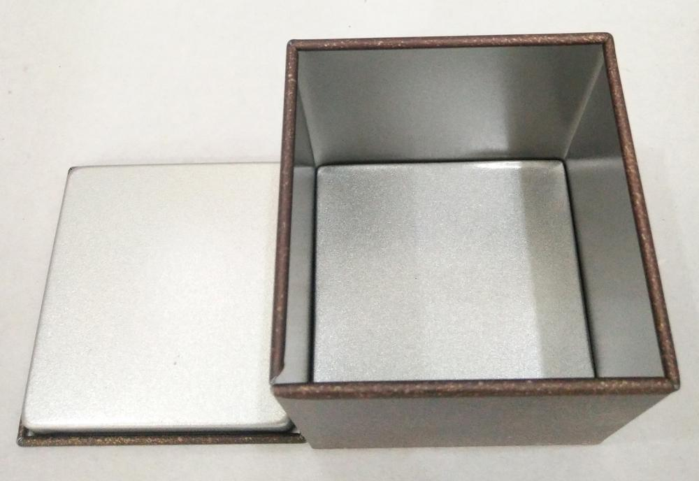Kvadratisk form Metal Coffee Tin Box