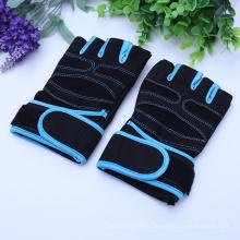 Halber Finger, der dauerhaftes Soem-Sporttraining radfährt, das weit verwendetes Neopren-Gewichtheben-Handschuhe verwendet