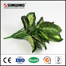 лучшие цены зеленая искусственная кучу растений с листьев для украшения партии