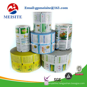 safety Food Grade Plastic Flexible Food Packaging Multilayer Films in Roll