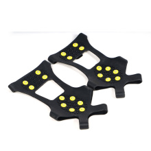 Top sale 8 spikes anti slip ice snow cleats for shoes Safety Snow Grabber