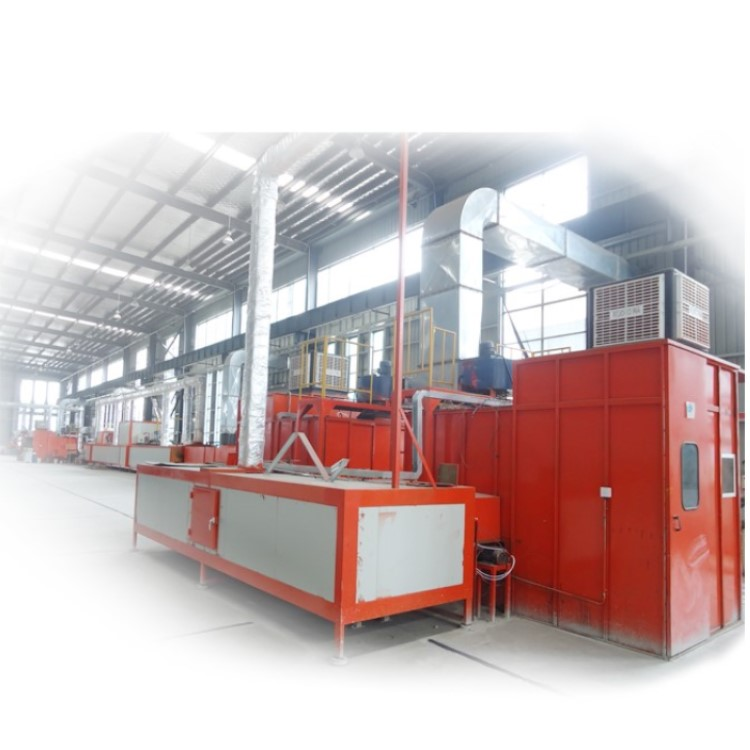 Surface Painting Production Line for metal processing