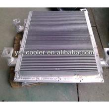 Enfriador de aceite y aire para compresor alternativo