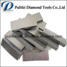 Marble Blade Segment for Bridge Cutting Saw Wet Cutting