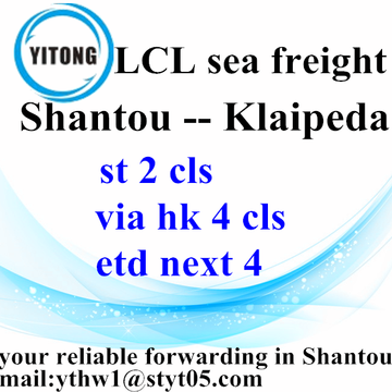 Shantou Global International Freight Agent naar Klaipeda