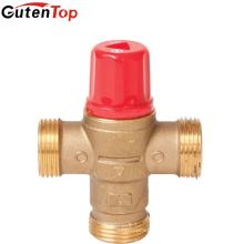 Gutentop Температуры Термостатический Смесительный Клапан Смешивает Для Горячей И Холодной Воды