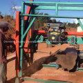 Портативный Band пильное полотно Дизель ленточная пила древесины распиливания машина