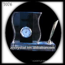 Maravilhoso K9 Crystal Clock T076