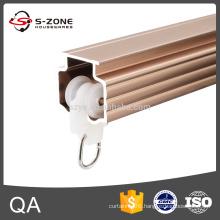 GD38 aluminium curtain track system sliding tracks