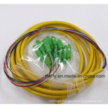 LC/St/LC/FC 6/12/24 Cores Multi-Fibers Bundle Pigtail