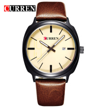 Luxury Business Waterproof Leather Quartz Watches men