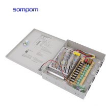 SOMPOM ac to dc 12V 5A 9CH CCTV switching  power supply accessories