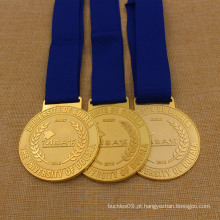 Medalha de Metal School Mba Customized Award para estudantes Mba