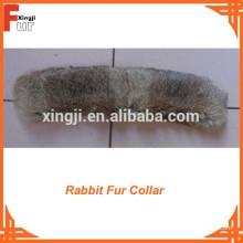 Chaqueta de piel de piel de conejo