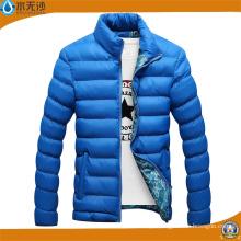 Jaqueta de inverno atacado jaqueta Bomber moda acolchoada para homem