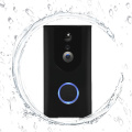 Pro de sonnette vidéo Wifi de porte de téléphone sans fil de haute qualité avec la caméra de sécurité