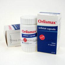 Orlismax Orlistat cápsula de tratamiento de pérdida de peso