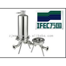 Filtro microporoso de acero inoxidable sanitario (IFEC-SF100002)