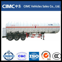 Cimc LNG Tank Trailer with Three Axle
