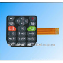 PET Graphic overlay keypad