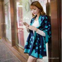 2016 Nouveaux produits Bonnette de laine imprimée imprimée de belle femme promotionnelle