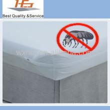 Venda direta da fábrica por atacado barato hotel cama bug capa de colchão à venda