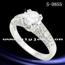 Anillo de bodas de la plata esterlina 925 de la joyería de la manera de Hotsale