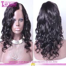 Super reizendes brasilianisches reines Haar u Teilperücke Großhandelsmenschhaar u Teilperückenseitenteil u Teilperücke
