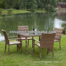 All Weather Wicker High Quality cast iron garden furniture Dining Furniture