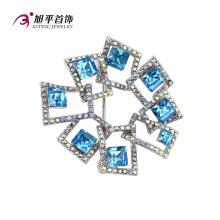 X0421002 - Xuping moda luxo ródio cz cristais de swarovski jóias elemento broche