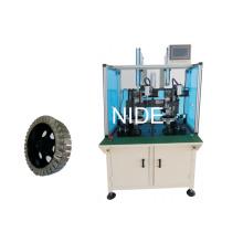 Machine d'insertion de papier de moteur de roue à double station
