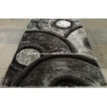 Polyester-Shaggy-Teppiche mit 3D-Effekten