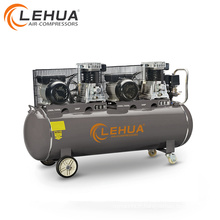 Compresseur d'air de 200L / 300L 3 * 2HP 2.2KW avec deux têtes de compresseur d'air deux moteurs électriques
