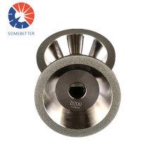 Chamfering grinding disc for gear teeth cbn diamond cutting tool angle grinder polishing wheel