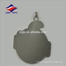 Métallique en alliage de zinc personnalisé médaille de souvenir métal avec ruban