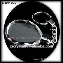 high quality blank crystal keychain