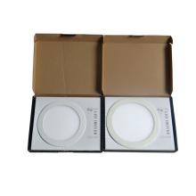 Blanco cálido 18 12 vatios de luz de panel redondo LED