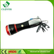 With emergency hammer 3W LED and 4 red LED powerful led flashlight