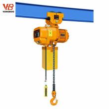 Grue à chaînes électrique de type fixe de 380v pour le levage de grue