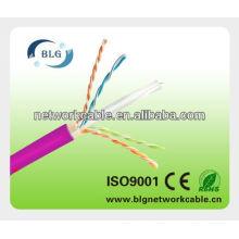 12 años de experiencia en la fábrica de redes Cat5e cat6 UTP cable
