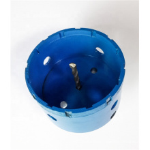 China 76mm Hot Pressed Cutting Hole  Diamond Hollow Core Drill Bit