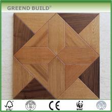 Suelo de parquet de madera resistente al agua de teca