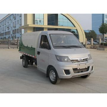 Mini Gasoline Sealed Barreled Garbage Truck