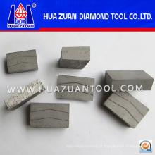 Segmento afiado do corte do diamante de 800mm para o mármore (Hz364)