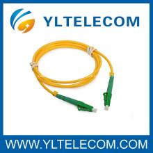 LC / APC to LC / APC Single Mode APC Fiber Optic Patch Cord & Pigtail