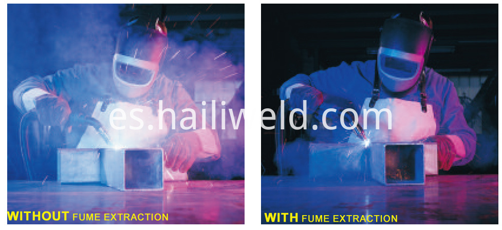 Fume Extraction Torches