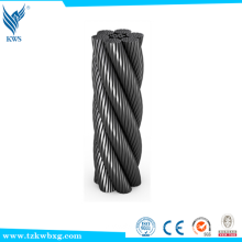 China Cheap ungalvanized stainless steel wire rope for sale elevator steel wire rope                                                                                                         Supplier's Choice