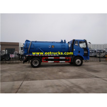 FAW 8000 Litres Excrement Camions Citernes