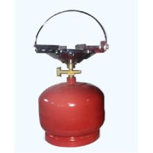 Fogões a gás de queimadores e fogão de acampamento