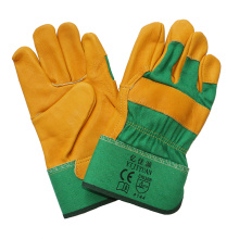 10.5 Inch Cow Top Grain Leather Work Gloves